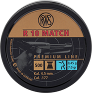 R10 MATCH Ø4,49MM 0,53G 500ER