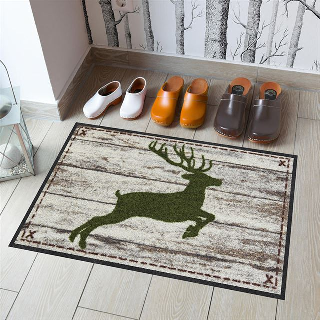 Fußmatte Springender Hirsch
