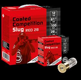 GECO CCS  Slug 100ER RED 28 G