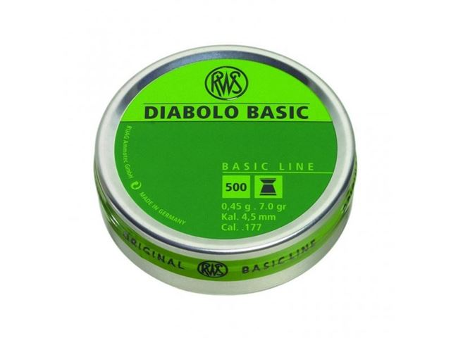 BASIC-L DIABOLO 4,5MM 0,45G